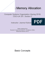 Lecture08 Memory Allocation