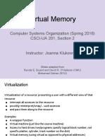 Lecture08 Virtual Memory