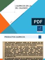 Productos Quimicos en La Industria Del Calzado