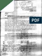 Dhingra's Letter