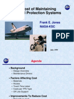 The Cost of Maintaining Thermal Protection Systems