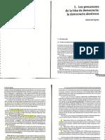 Ágila, F. Los Precursores de la idea de democracia.pdf