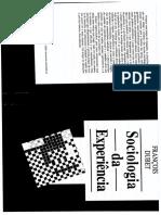 Dubet, F. - Sociologia Da Experiência 01parte