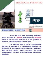 Theodolite Survey Ch 2
