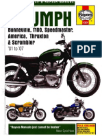 4143314 instant download triumph bonneville t100 repair manual wiring a ignition on a motorcycle documents similar to 4143314 instant download triumph bonneville t100 repair manual