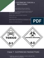 sustancias tóxicas e infecciosas