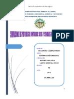 COMPARACIÓN DE PROTOCOLOS MONITOREO SUELO Y ESTANDARES DE CALIDAD SUELO PERÚ, CHILE Y CANADA