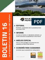 Boletín 16 Acerca de Los Derechos de Propiedad - Observatorio Económico Legislativo