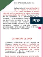 Opex (Excelencia en Operaciones) Mag