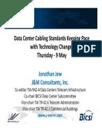DC Cabling Standards - Jonathan Jew