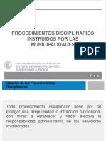 Presentación CGR Procedimientos Disciplinarios Municipales