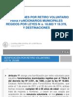 Presentación CGR Bonificación Incentivo Retiro FF.MM