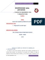Informe de Proyecto Lagunillas(puno-peru)