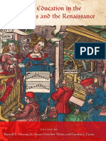 Music Education in the Middle Ages and the Renaissance