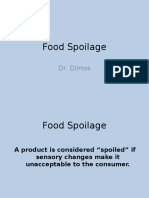 Lecture 12 Food Spoilage (1)