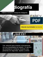 El estudio dado a conocer por Cabify de comportamiento en la región de Valparaíso