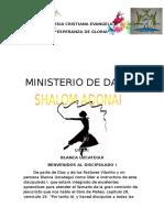 Discipulado Shalom Adonay La Importancia de La Danza