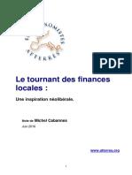 Le Tournant Des Finances Locales, Juin 2016