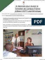 21 questions & réponses pour réussir la préparation de l'entretien de Campus France.pdf