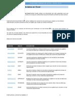 Funciones de Base de Datos en Excel