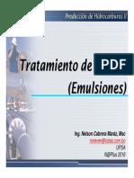 Tratamiento Del Crudo Emulsiones