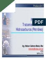 Producción Tratamiento Del Petroleo