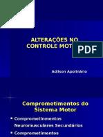 Alterações Controle Motor