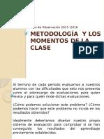 Metodología  y los momentos de la clase.pptx