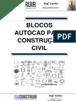 Blocos Autocad para Construção Civil