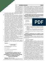 Ley 30478 - Ley Que Modifica Art. 40 Del Tuo de La Ley Del Spp