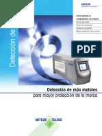Parametros Detector de Metales Safeline