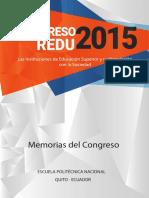 Memorias Congreso Redu 2015