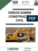 Vídeos sobre Construção Civil