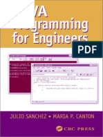 Java Programming for Engineers Mechanical Engineering Series Boca Raton Fla
