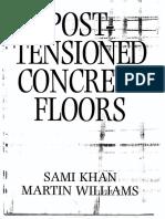 Design Guide Post Tensioned Concrete Floors