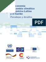 La Economía Del Cambio Climático Paradojas y Desafíos
