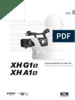 Manual de usuario de la filmadora Canon XHG1s_XHA1s_CUG_ESP