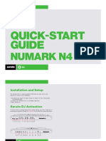 Numark N4 Quickstart Guide