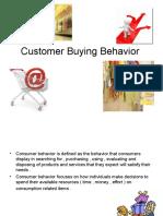Customer Buying Behavior