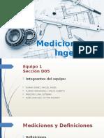 Mediciones en Ingeniería