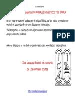 ATENCION Descifrar Papiro