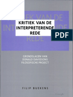 Kritiek Van de Interpreterende Rede