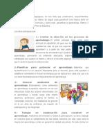 Los 12 Principios Pedagógicos