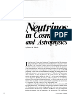 Neutrinos in Cosmology and Astrophysics