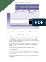 Fujitsu Remote Recovery Manual