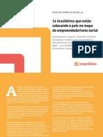 14 brasileiros que estão colocando o país no mapa do empreendedorismo social
