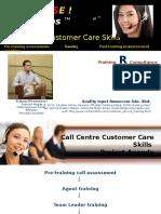 Presentation Call Centre Customer Service Helpdesk Training