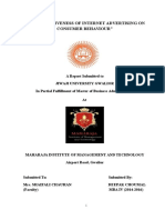 Mba Research Project Report (1)