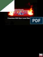 Bleach D20 Classless Epics