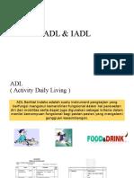 ADL & IADL